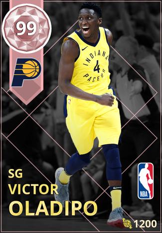 Victor Oladipo pinkdiamond card