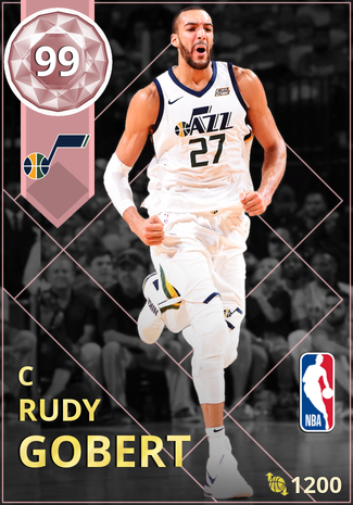 Rudy Gobert pinkdiamond card