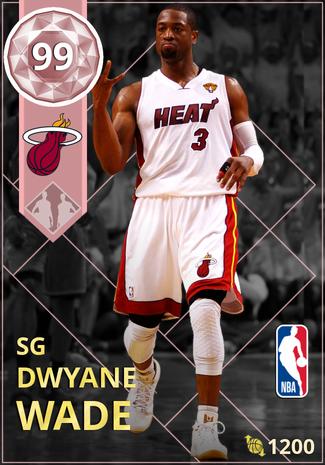 '10 Dwyane Wade pinkdiamond card
