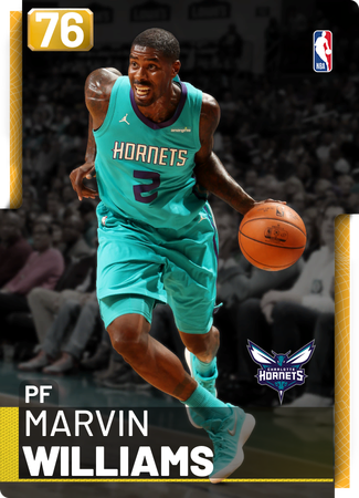 Marvin Williams gold card