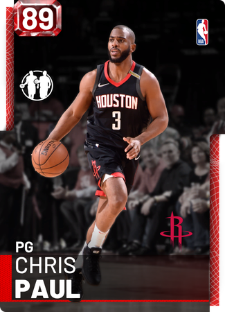 Chris Paul ruby card