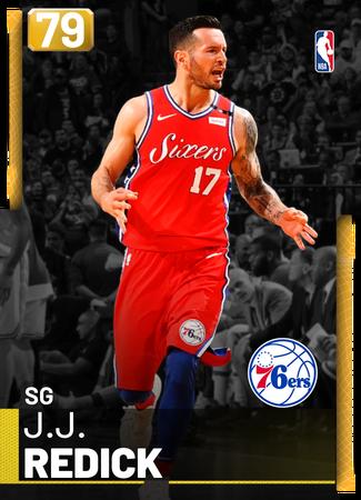J.J. Redick gold card