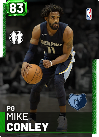 Mike Conley emerald card