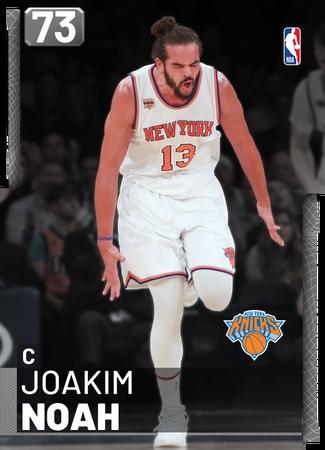 Joakim Noah silver card
