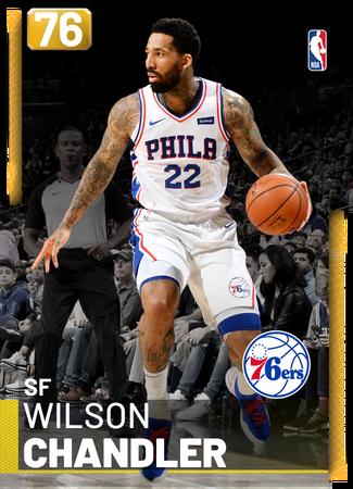 Wilson Chandler gold card