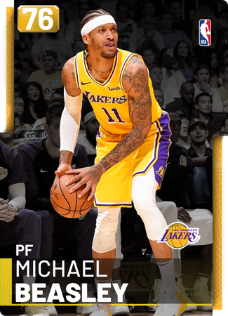 Michael Beasley gold card