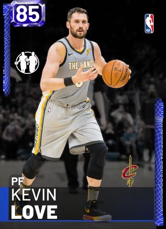 Kevin Love sapphire card
