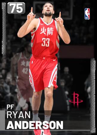 Ryan Anderson silver card