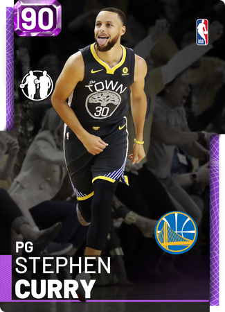 Stephen Curry amethyst card