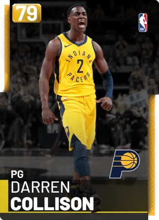 Darren Collison gold card