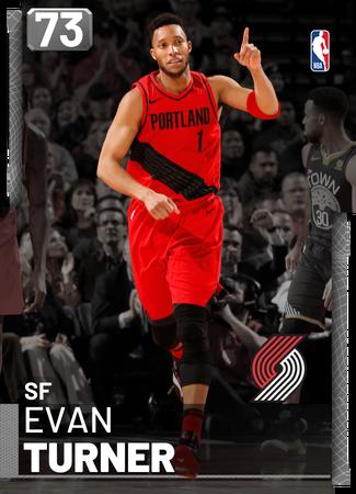 Evan Turner silver card