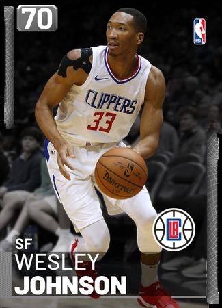 Wesley Johnson silver card
