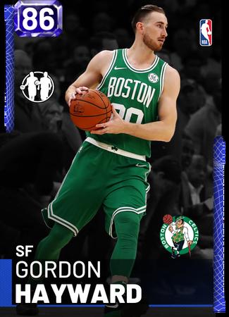 Gordon Hayward sapphire card