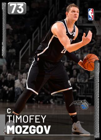 Timofey Mozgov silver card