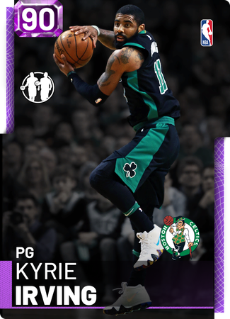 Kyrie Irving amethyst card