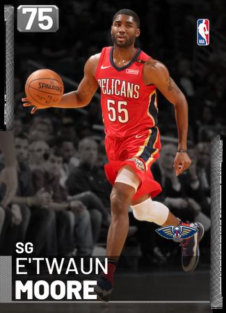 E'Twaun Moore silver card