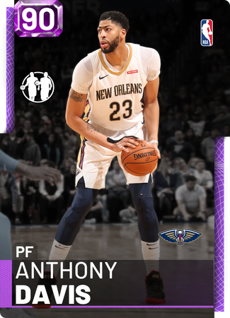 Anthony Davis amethyst card