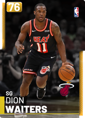Dion Waiters gold card