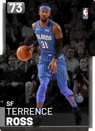 Terrence Ross silver card