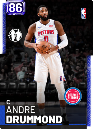Andre Drummond sapphire card