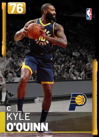 Kyle O'Quinn gold card