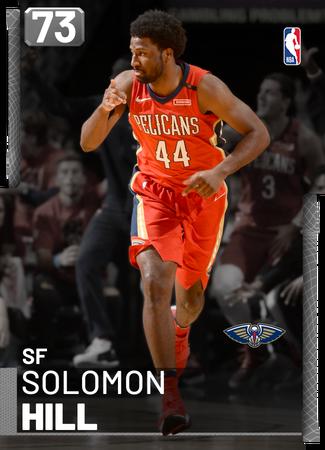 Solomon Hill silver card