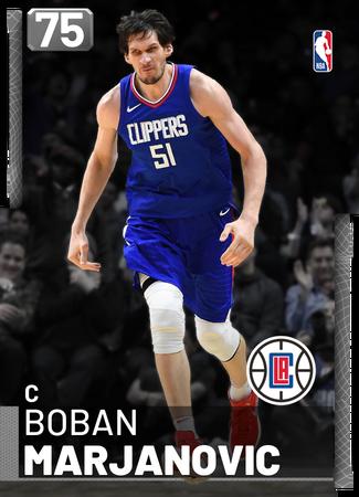 Boban Marjanovic silver card