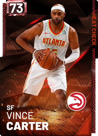 Vince Carter fire card