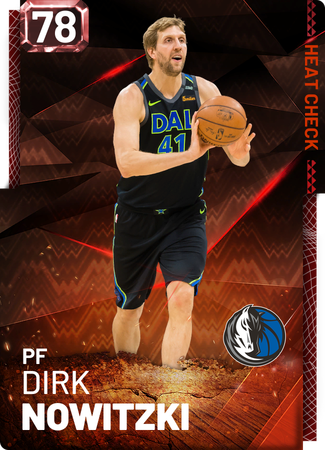 Dirk Nowitzki fire card