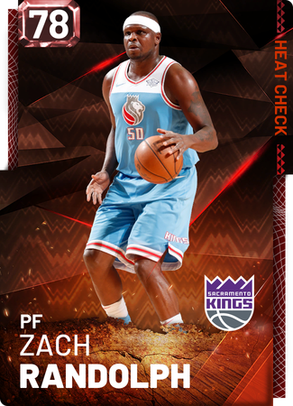 Zach Randolph fire card
