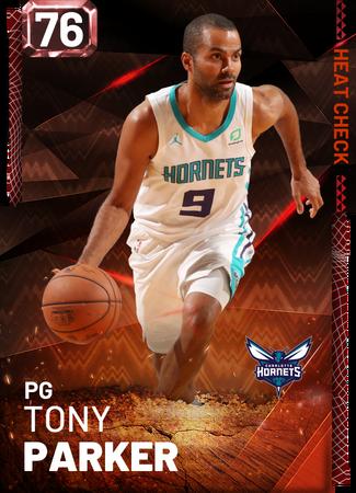 Tony Parker fire card