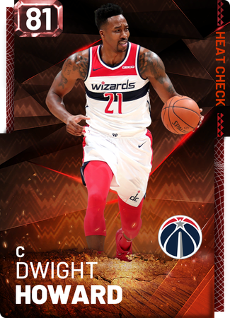 Dwight Howard fire card