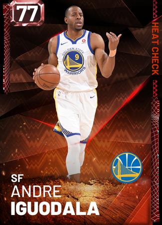 Andre Iguodala fire card
