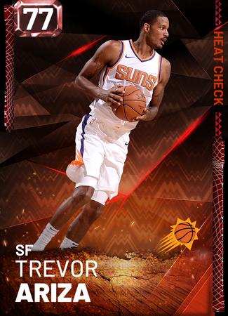 Trevor Ariza fire card