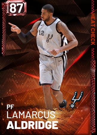 LaMarcus Aldridge fire card
