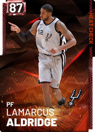 LaMarcus Aldridge fire card