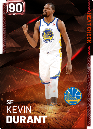 Kevin Durant fire card