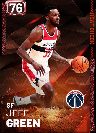 Jeff Green fire card
