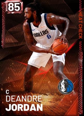 DeAndre Jordan fire card
