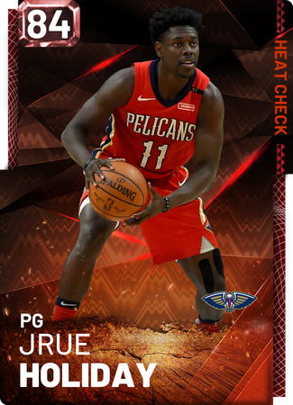 Jrue Holiday fire card