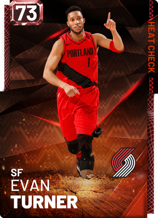 Evan Turner fire card