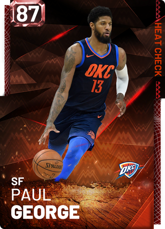 Paul George fire card