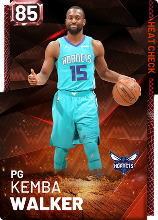 Kemba Walker fire card