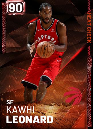 Kawhi Leonard fire card