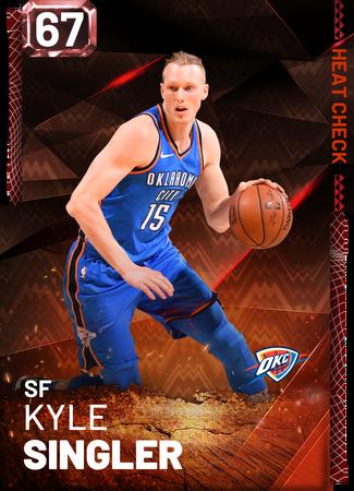 Kyle Singler fire card
