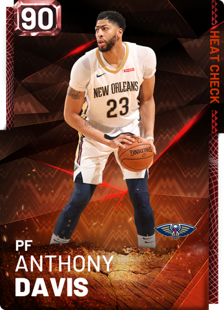 Anthony Davis fire card