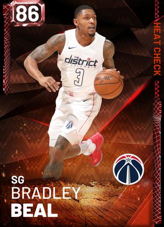 Bradley Beal fire card