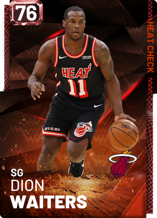 Dion Waiters fire card