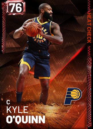 Kyle O'Quinn fire card