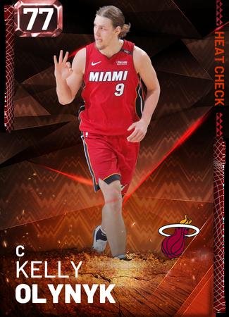 Kelly Olynyk fire card